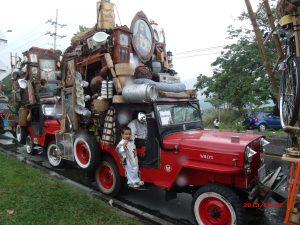 Yipao y su trasteo tradicional